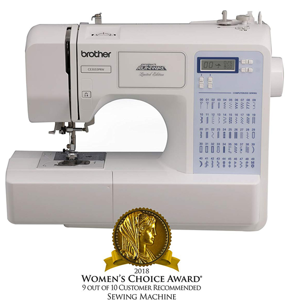 Brother Sewing Machine - 2018 Women's Choice Award - 9 out of 10 customers recommended sewing machine