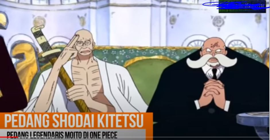 Misteriusnya Pedang Meito  di One Piece