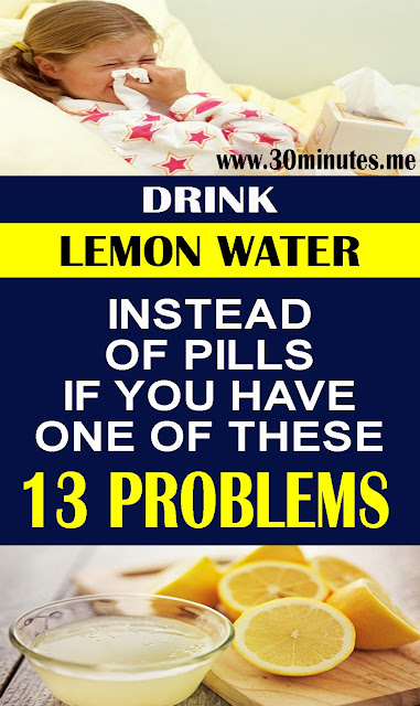 Drink Detox Lemon Water Instead Of Pills If You Have One Of These 13 Problems