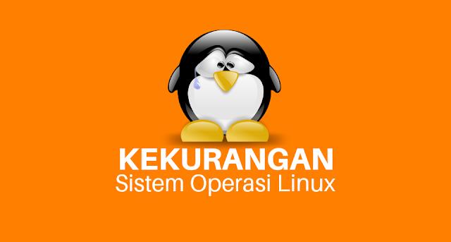 Kekurangan-sistem-operasi-linux
