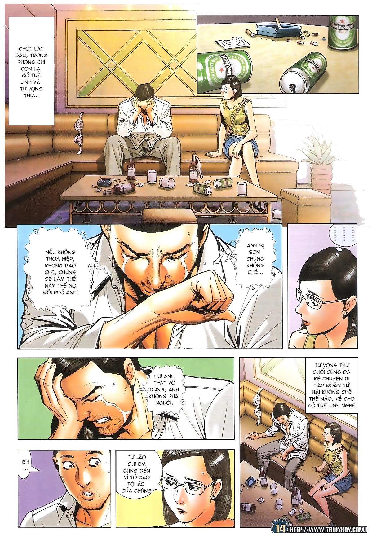 Người Trong Giang Hồ chapter 1706: kịch chiến trang 13