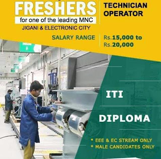 10th &12th Pass/ ITI/ Diploma/ Graduate Job Vacancy For Machine Operators in Plastic Product Manufacturing Company Pune