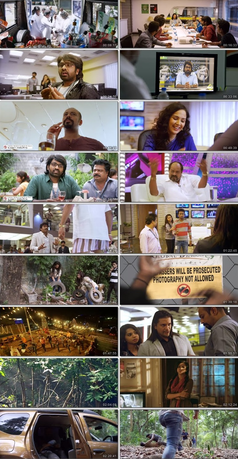 Screen Shot Of Tollywood Movie Kavan 2017 Full Movie In Hindi Dubbed Free download 720P HD