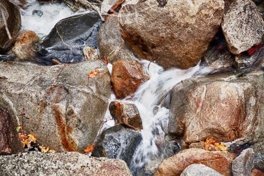 Fotografare cascate e ruscelli in modo efficace