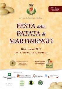 Festa della patata 18 settembre Martinengo (BG) 2016