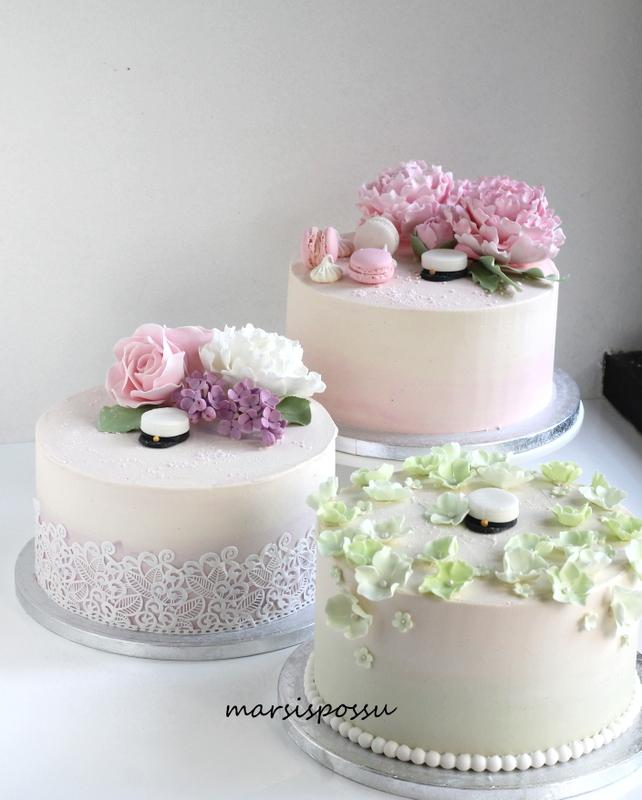 Kakkuja ylioppilasjuhliin
