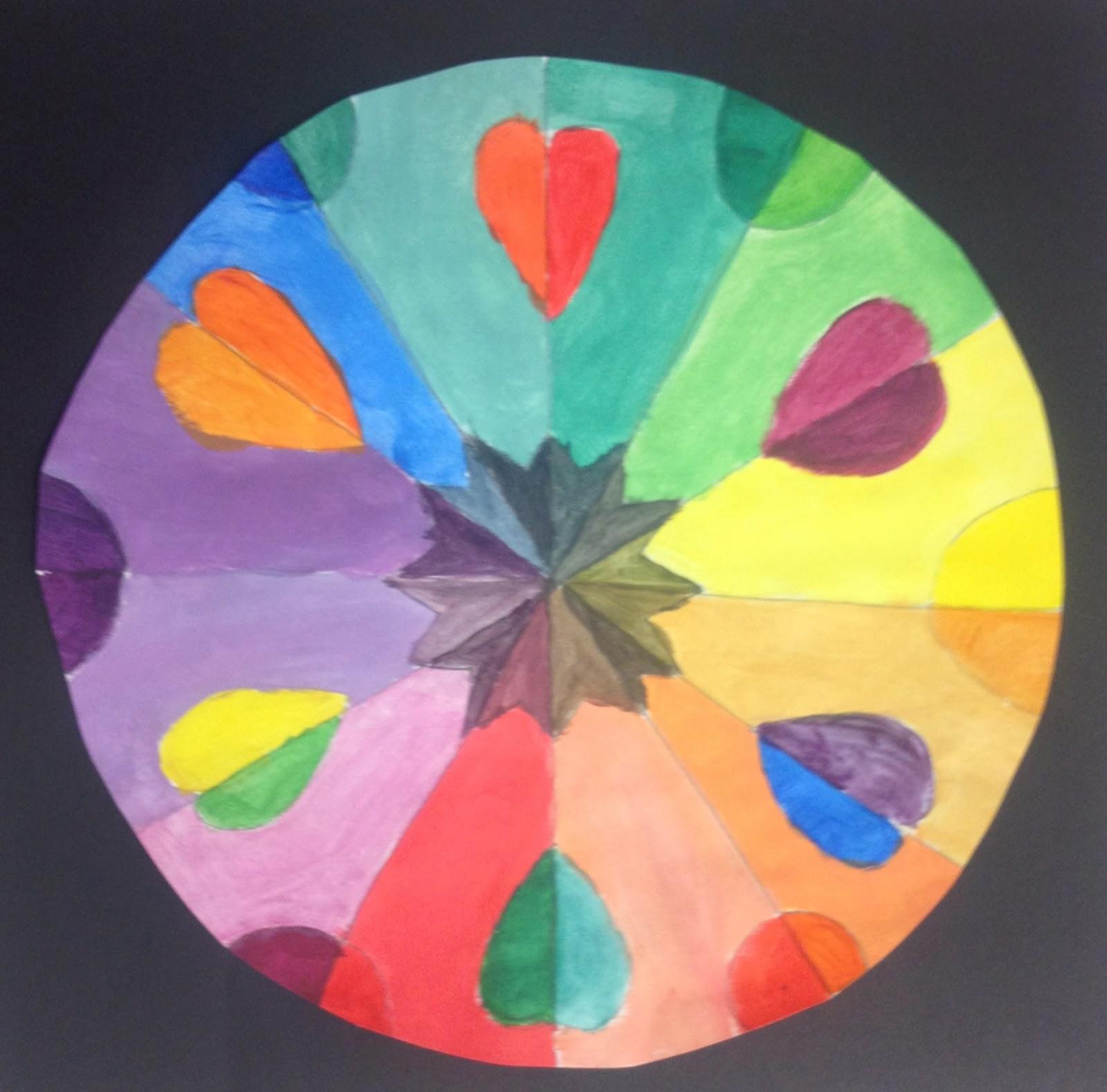 Bryan Gallery Art Education Day Four Color Wheel Mandalas