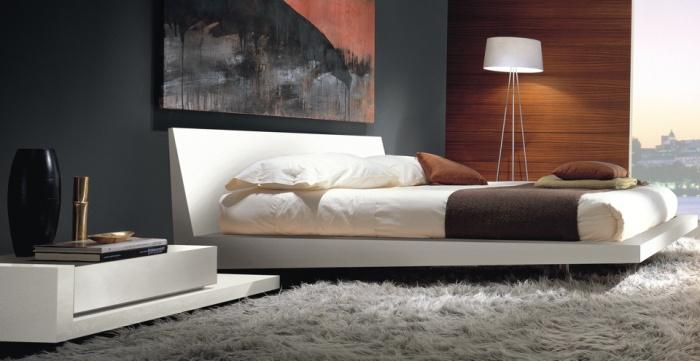 Hogares frescos 14 dormitorios minimalistas y frescos for Diseno de habitacion principal pequena