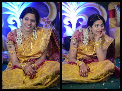 Geetha Madhuri engagement look
