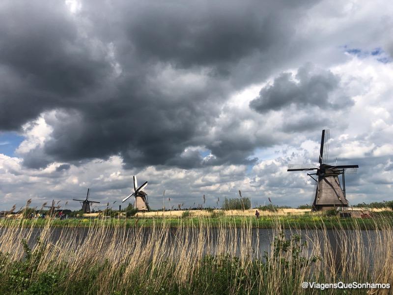 Onde ver Moinhos na Holanda
