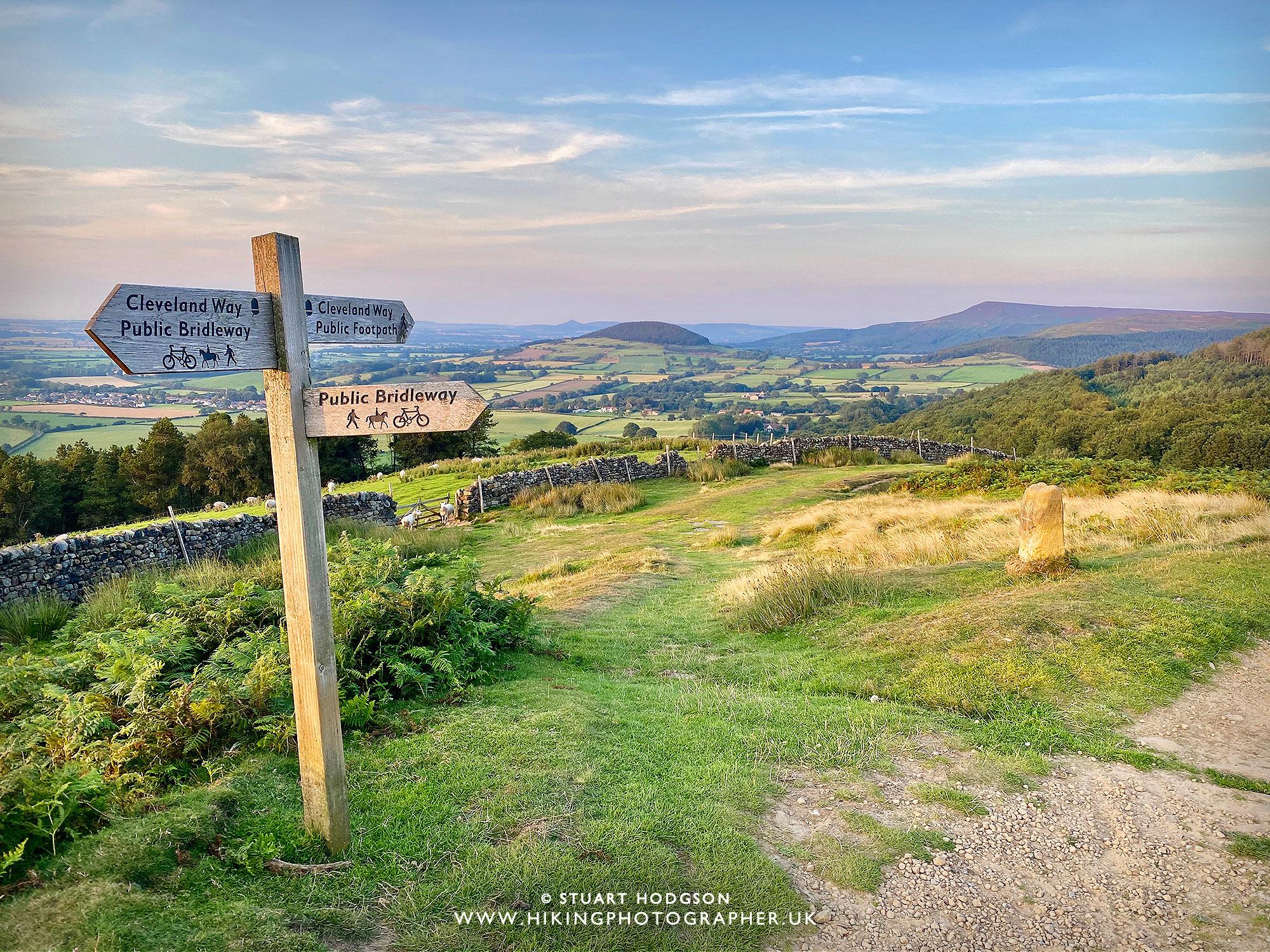 Osmotherley walk best Yorkshire Cleveland Way Cod Beck Reservoir
