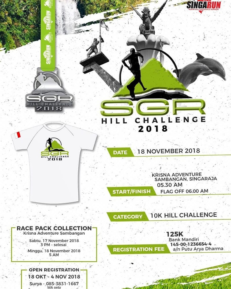 SGR Hill Challenge • 2018