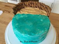 Sea, Beach Cake