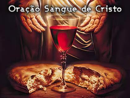 Oração Sangue de Cristo