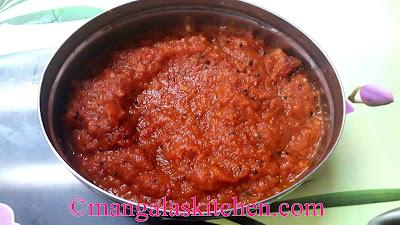 Chettinad Kara Chutney | Paniyaram Chutney | Spicy Red Chilli Onion Tomato Chutney
