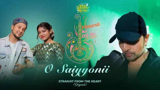 O Saiyyonii Lyrics   Pawandeep Rajan   Arunita Kanjilal