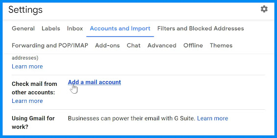 انشاء حساب Gmail