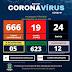 SS DA AMOREIRA - BOLETIM COVID-19 CONFIRMA 19 CASOS ATIVOS EM 17/04