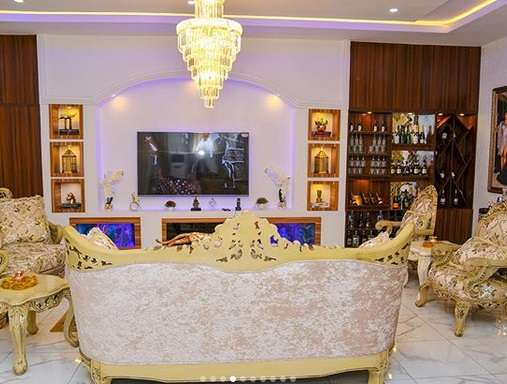 Checkout Cute Interior of Iyabo Ojo's New Home in Lekki {Photos}