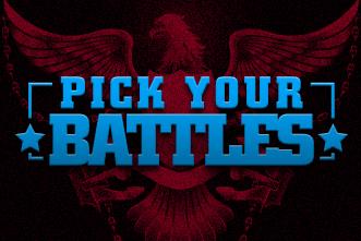 Pick Battles Counted Cross Stitch Chart Pattern only PDF ...   Chart Pick Your Battles