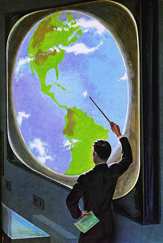 a John Polgreen illustration of Earth