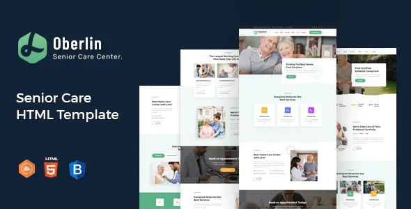 Best Senior Care HTML Template