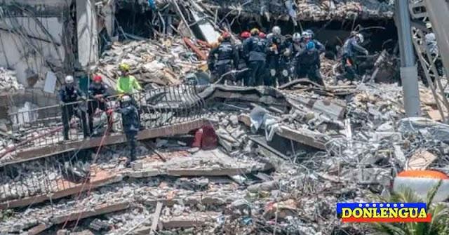 DERRUMBE EN MIAMI | Ya no hay esperanzas de encontrar sobrevivientes