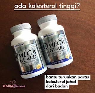 Bacaan Kolesterol Turun 2 Bulan Makan Omega Guard Shaklee