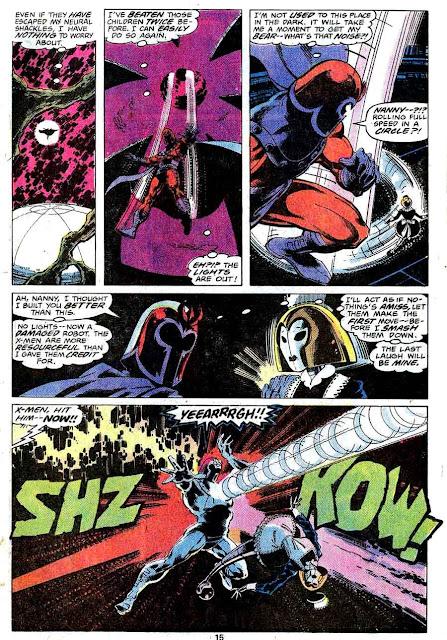 X-men v1 #113 marvel comic book page art by John Byrne
