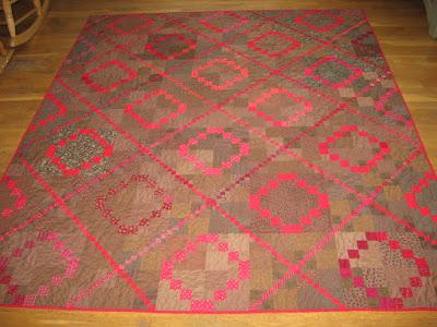 Little Rubies quilt