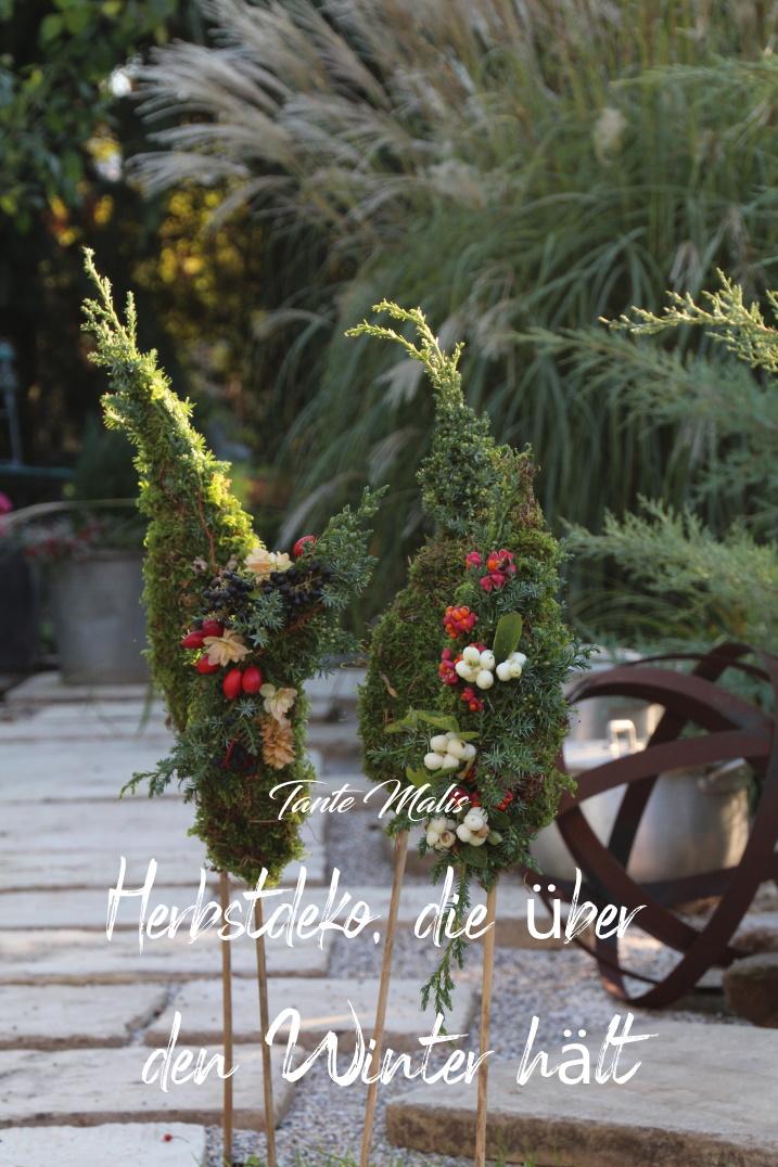 Herbst Gartendekoration