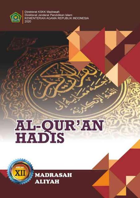 Buku Al Quran Hadis MA Kelas XII