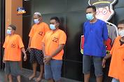 Polres Bojonegoro Amankan 5 Pelaku Narkoba
