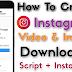 Instagram Downloader PHP Script Free Download