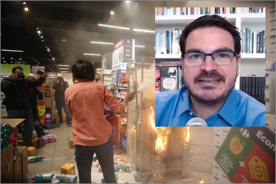 "Constantino: ""Exploram o caso do Carrefour para importar marxismo racial pro Brasil"""