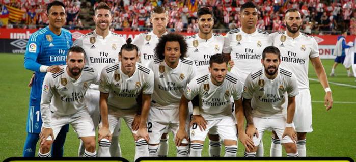 مباراة ريال مدريد ومليلية 06-12-2018 كاس ملك اسبانيا