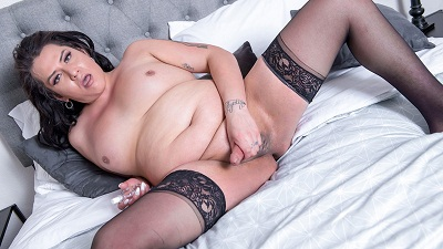 Tgirlbbw – Mouthwatering Katie Cums!