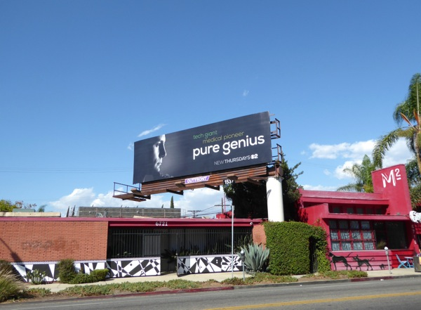 Pure Genius TV series billboard