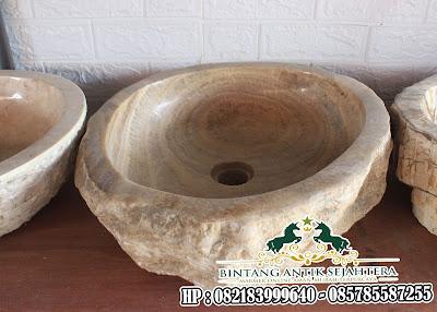 Wastafel Batu | Contoh Wastafel Batu Alam