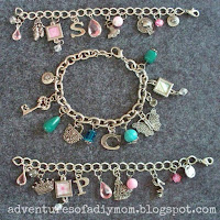 how to make charm bracelets
