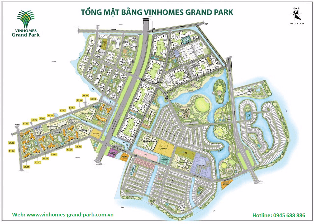 mat bang vinhomes grand park