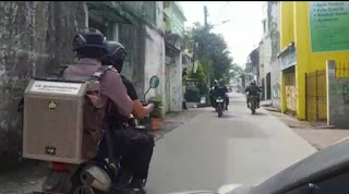 Tim Respon Polres Pelabuhan Gencar Patroli Sosialisasi Pencegahan Covid-19