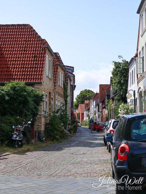 Gasse in Eckernförde an der Ostsee