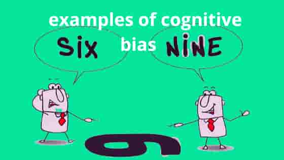 what are some examples of cognitive bias: Definition