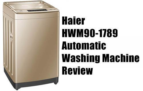 Haier Automatic Washing Machine Hwm90 1789 Full Review Pakistan Hotline