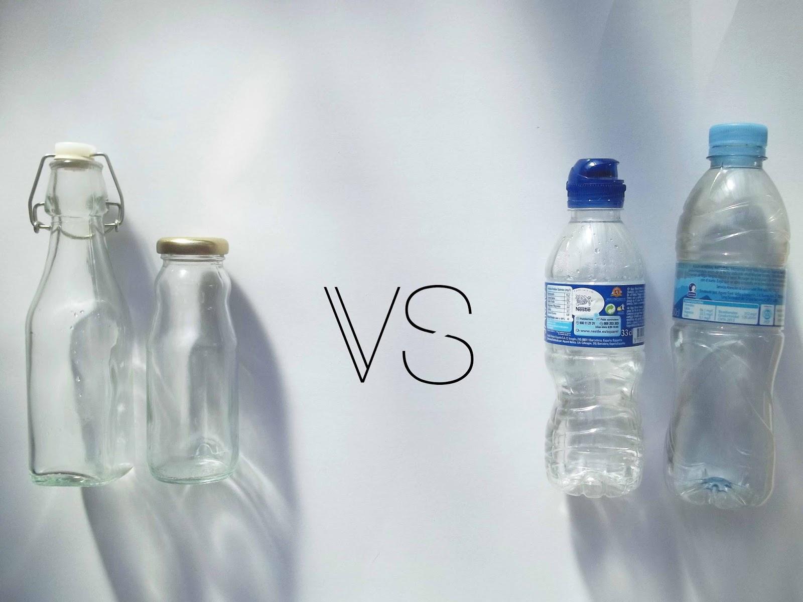 Alternativa a las botellas de plástico y las servilletas de papel