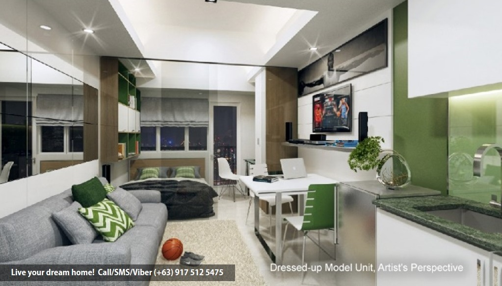SMDC Green Residences - 1 Bedroom Deluxe With Balcony | Condominium for Sale Taft Malate Manila