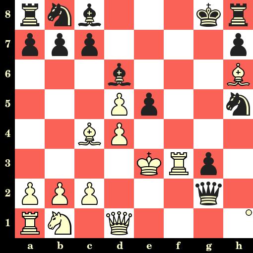 Les Blancs jouent et matent en 4 coups - Wilhelm Steinitz vs Peter Wilson, Londres, 1862