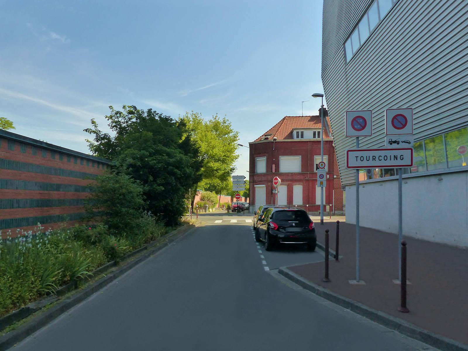 Rue Claude Bernard, Tourcoing 2020