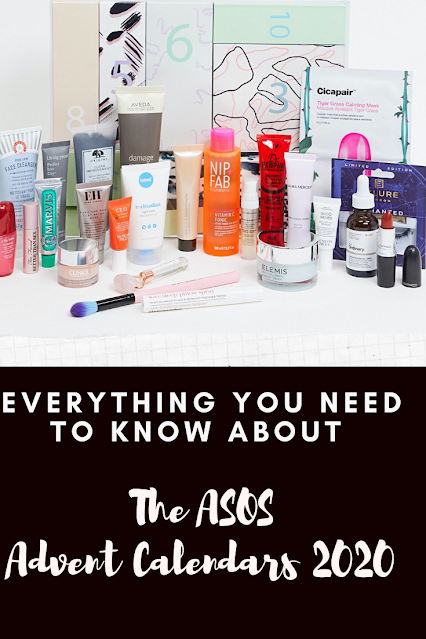 ASOS Face + Body Beauty Advent Calendars 2020